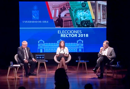Streaming Debate Elección Rector 2018